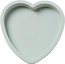 MoGist - Stampo rotondo per torte in silicone, 6