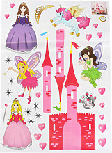 Mohoo - Adesivo murale Wall Sticker Princess Fill