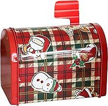 Mokyler - Scatola regalo natalizia in latta, con