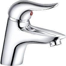 Monocomando lavabo ottone cromo serie Yvette