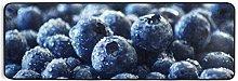 MONTOJ Fresh Clean Blueberry - Tappeto da cucina