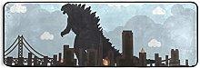 MONTOJ Godzilla - Tappeto da cucina per disastro,