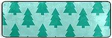 MONTOJ - Tappeto da cucina con albero di Natale,