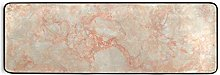 MONTOJ - Tappeto da cucina in marmo arancione