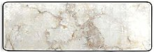 MONTOJ - Tappeto da cucina in pietra bianca