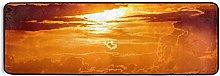 MONTOJ - Tappeto da cucina, motivo: tramonto