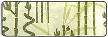 MONTOJ Tappeto Grottesco Bamboo Cucina Tappeto