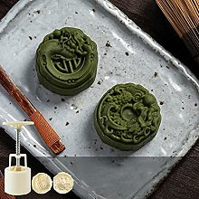 Mooncake Stampo con 6 francobolli Cookie Cutter a