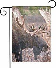 Moose - Bandiere da giardino per interni ed