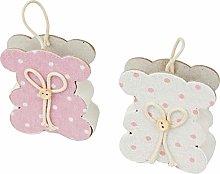 Mopec A99.2 - Sacchetto orsetto rosa/avorio a