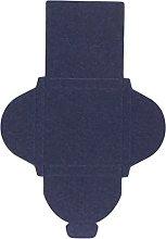 Mopec E02,25-Scatola Quadrata, Colore: Blu Scuro,