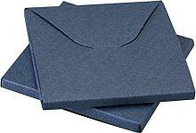 Mopec E03,25-Scatola Quadrata in Colore Blu,