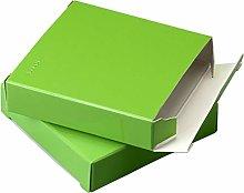 Mopec E471,39-Scatola Quadrata Verticale: Verde,