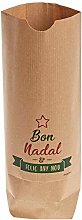 Mopec NE240.2 - Sacchetto Kraft Bon Nadal I Feliç
