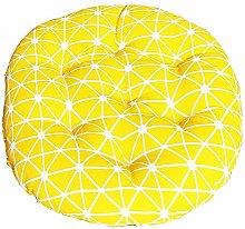 Morbuy Cuscini per Sedia Forma Rotonda, 100%