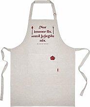 Moses W. Busch Grembiule da Cucina, Cotone