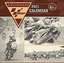 Moto GP 2021 Unisex Calendario da Parete