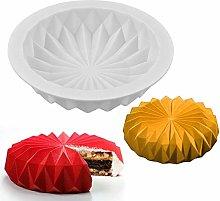Mousse Stampo per Torta in Silicone 3D Pan Rotondo