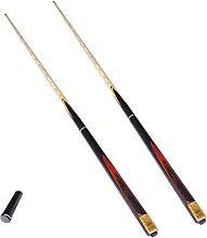 MQJ Cue Snooker Biliardo 10 Mm Suggerimenti 145 cm