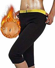 MQSS Tuta Sauna Donna Fitness Completo, Leggings