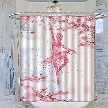 MRFSY - Set di tende da doccia per balletto con