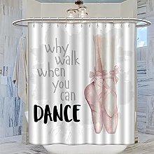 MRFSY - Tende da doccia da balletto, da donna, con