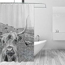 MRFSY - Tende da doccia in stile vintage, con