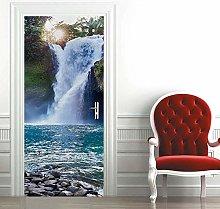 Msrahves Poster per Porte Bella cascata di moda