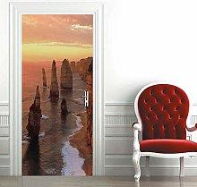 Msrahves Poster per Porte Belle pietre di mare