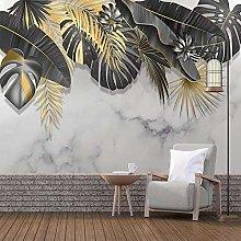 Msrahves stickers murali Semplice dorato piante
