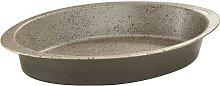 Mugnano Happy Stone Teglia Ovale 35 X 23 Cm