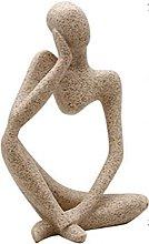 MUJIJI Decorazioni Scultura Statua Home Resina