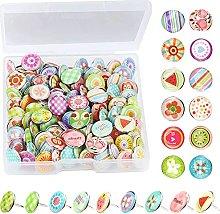 Multicolori Puntine In Metallo Puntine Per Lavagna