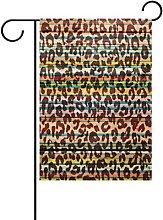 MUMIMI - Bandiera da Giardino in Legno, Motivo