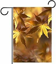 MUMIMI - Bandiere sportive per giardino con foglie