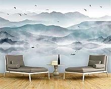 MUMUWUSG Carta Da Parati Personalizzata 3D Nebbia