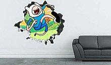 Murale Avventura Cartoon Personalizzato