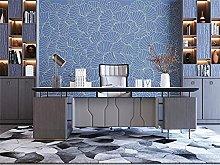 Murali Sticker da muro blu Murali Fiore