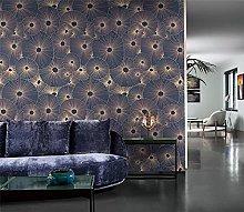 Murali Sticker da muro Fiore blu Murali Fiore
