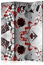 murando Paravento Calcestruzzo Astratto 135x172 cm