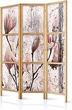 murando Paravento Fiori 135x171 cm 3 Parti Stampa