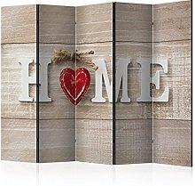murando Paravento Home Legno 225x172 cm Stampa