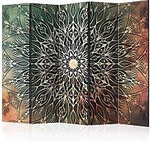 murando Paravento Mandala 225x172 cm Stampa