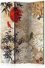 murando Paravento Oriente Giappone Asia 135x172 cm