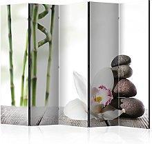 murando Paravento Spa Zen Orchidea Fiori 225x172