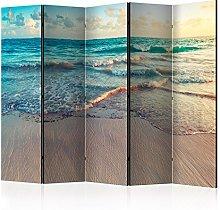 murando Paravento Spiaggia e Mare 225x172 cm