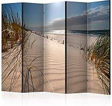 murando Paravento Spiaggia Mare 225x172 cm Stampa