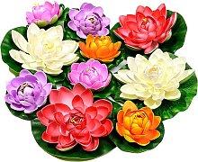 Muschio galleggiante artificiale Fiore di loto con