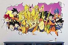 MXLYR Adesivo da parete 3d Adesivo murale