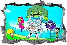 MXLYR Adesivo da parete 3d Murale murale murale